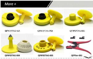 Modifica di orecchio animale di alta qualità con il chip di Lf/UHF o senza