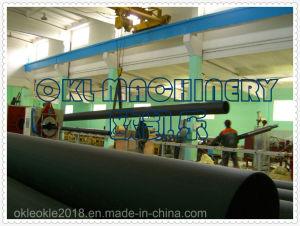 HDPEの包装の管の外装のための放出装置の押出機の管の生産ライン