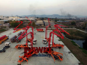 Hightの品質のより小さい具体的なポンプトラックの中国の製造者