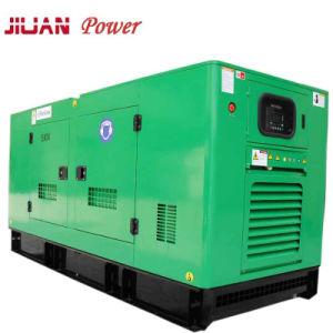 Precio de venta de fábrica Guangzhou silenciosa Diesel Eléctrico de potencia 80 kw con generador de Perkins.