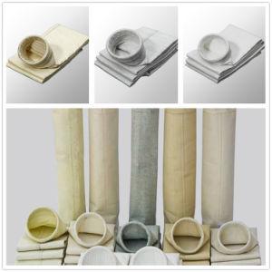 Sacchetti filtro usati della polvere del poliestere della centrale elettrica