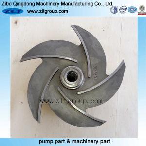 Rotor de pompe à ouvert en acier inoxydable avec moulage d'investissement