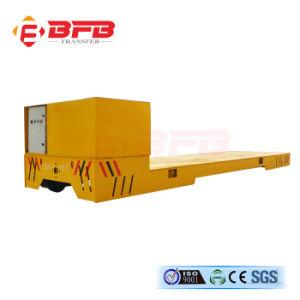 Наиболее востребованных электрический вагон на цементной поверхности пола