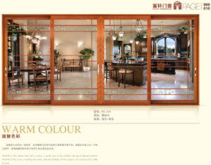 백색 색깔 내부 알루미늄 여닫이 창 Windows (CL-W1014)