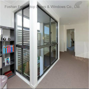 建物(FT-W132)のためのアルミニウムフレームのスライドガラスのWindows