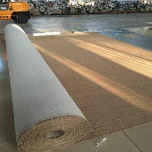 Moquette e coperte da parete a parete del sisal della protezione del lattice del sisal naturale
