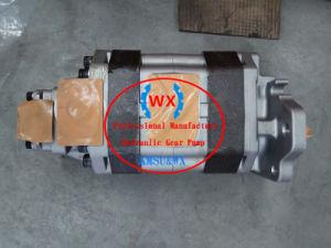 Eine hydraulisch-Zahnradpumpe 705-95-07081 der Jahr-Garantie-Japan-Pumpen-HD325-7/HD405-7