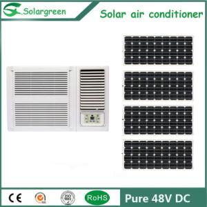 9000BTU 12000BTU 24V 48V Janela movidos a energia solar do Condicionador de Ar