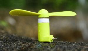 Venda por grosso de ventilador Mini USB barato para telemóvel