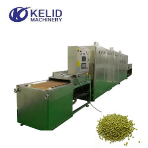 De industriële Microgolf die van de Noten van de Korrel van het Type van Riem Genezend Steriliserende Machine drogen