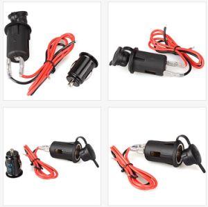 Toma del encendedor del coche moto/enchufe de alimentación/cargador USB Dual Socket