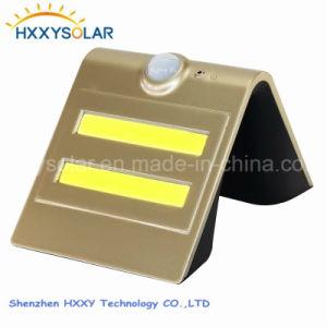 Inteligente de 1,5 W LED Solar Lampara de pared con certificados