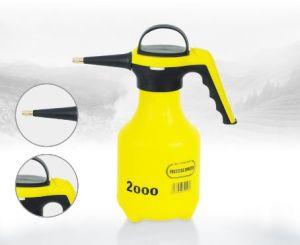 Jardín de plástico Mini Spray dosificador de plaguicidas Amarillo 2L pulverizador