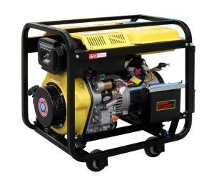 6.5Kw/186f de la soldadura Generador Diesel (DG6000coser)