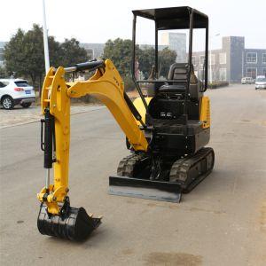 Piccolo mini escavatore poco costoso cinese da vendere