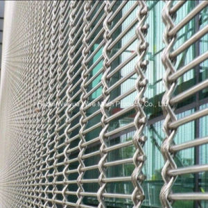 Stainless Steel Decorative Mesh Cladding Woven Wire Fabric