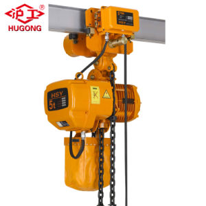 Nouveau modèle Hsy palan électrique à chaîne avec le grade de travail M5