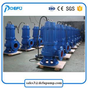Eaux usées submersible de coupe antibourrage de la pompe à lisier Prix de la pompe