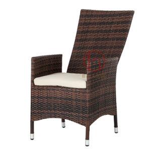 Jardín Bistro de mimbre muebles de ratán ajustable sillas de comedor ...