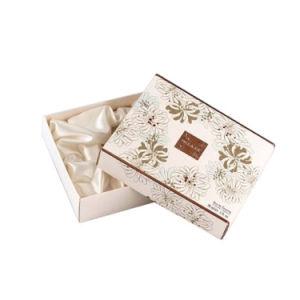 عالة علامة تجاريّة طباعة بيضاء مستحضر تجميل هبة محدّد يعبّئ صندوق
