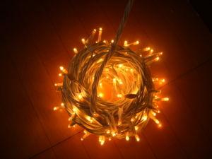 Utilizado en el interior de la luz de la cadena de LED