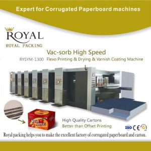 Macchina di rivestimento &Drying del &Oil di stampa ad alta velocità adsorbitiva di Flexo di vuoto