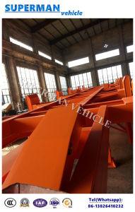 반 40FT 콘테이너 터미널 포트 수송 트레일러