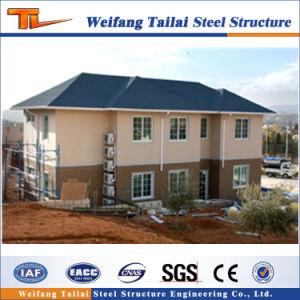 Diseño de la estructura de acero de construcción de la construcción de la casa prefabricados