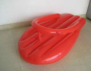 Nouvelle conception OEM Flip Flop gonflable Lilo