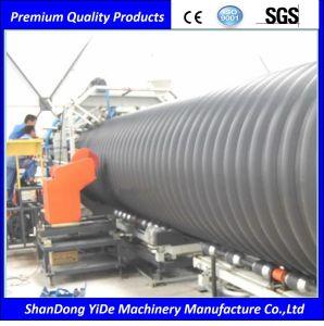 PVC/PE/PP Tubo ondulado de doble pared de la extrusora