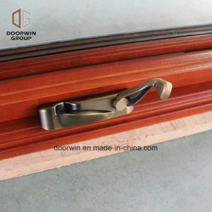 Madeira de carvalho americano Janela Casement de alumínio para Missouri cados na janela do Virabrequim