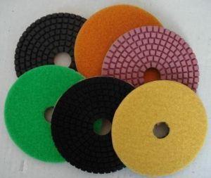 Tampone a cuscinetti per lucidare del pavimento del diamante/disco abrasivo di molatura/del rilievo