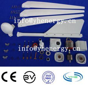De gemakkelijke Turbogenerator van de Wind van de Installatie 1kw 12V/24V