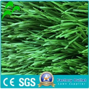 Erba artificiale d'imitazione, tappeto erboso sintetico, erba di gioco del calcio (Y30-R, erba piena)