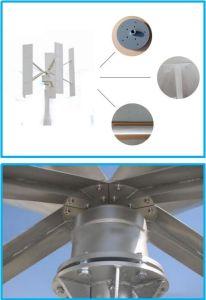 住宅2000W 48V/96Vの縦の軸線のMaglevの風発電機のタービン