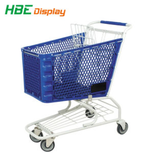 China-Fabrik-Plastiksupermarkt-Einkaufen-Laufkatze