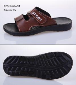 Pantoufle Fashion cuir synthétique, semelle EVA Hommes Diapositive sandale