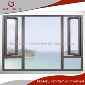 Алюминиевый профиль двойные стекла дверная рама перемещена окна