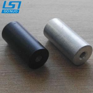 Personnalisé de fixation des écrous de raccord en aluminium oxydé Long
