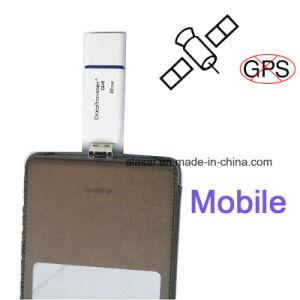 Contact USB met LEIDENE GPS van de Vertoning Stoorzenders