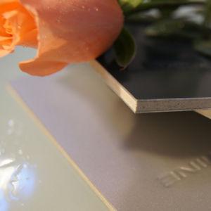 Más alto nivel de resistencia al fuego Panel de plástico Compuesto de Aluminio