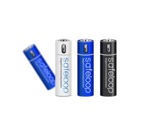 USB Li-ion 1.5V AA recargables baterías Batería 1200mAh