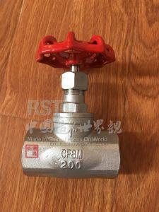 Aço inoxidável forjado a operação manual das válvulas esféricas de Flange