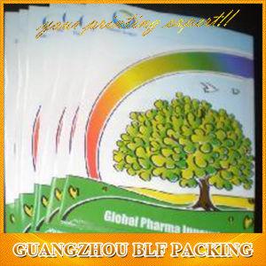 Нестандартного формата бумаги Promontional распространению буклетов для полноцветной печати/ Листовка (BLF-F040)