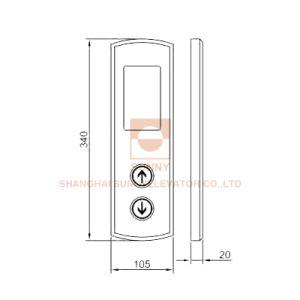 Жк-дисплей с точечной матрицей цепь элеватора для крепления на стене (SN-Лоп-S103)