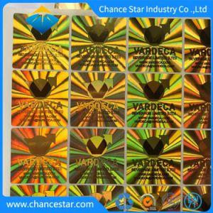 Stickers van het Etiket van de Veiligheid van het Hologram van de douane 3D anti-Valse