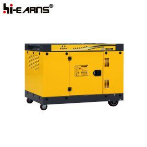 12kw de luchtgekoelde Diesel van Twee Cilinder Reeks van de Generator (DG16000SE)
