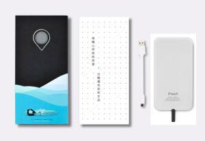 Cargador portátil compacto de Banco de potencia con iluminación integrada en el Cable/Micro-USB/Type-C/4000mAh (Y4).
