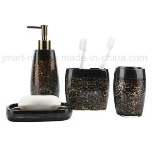 Chiavette e tazze di Polyresin per l'insieme dell'accessorio della stanza da bagno