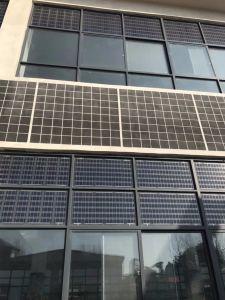 Le verre et le module solaire en verre